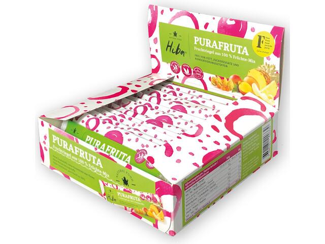 Hiba Purafruta Energy Bar Box 12x30g, Fruit Mix